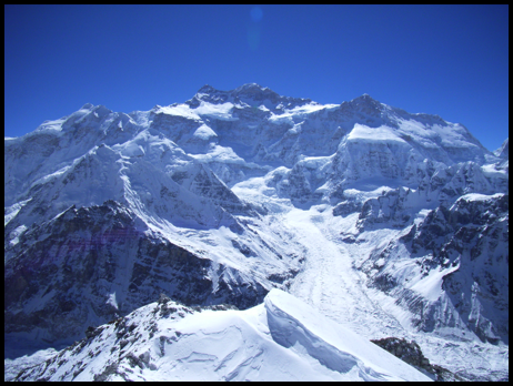 West face Kangchenjunga